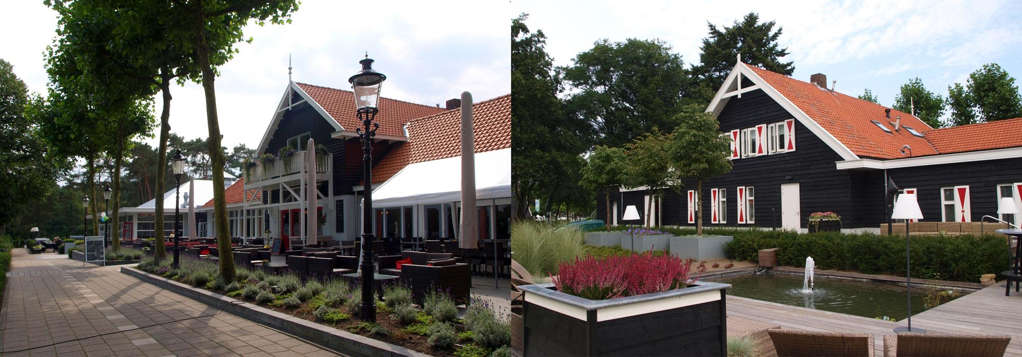 Realisatie restaurant voor- en achterzijde