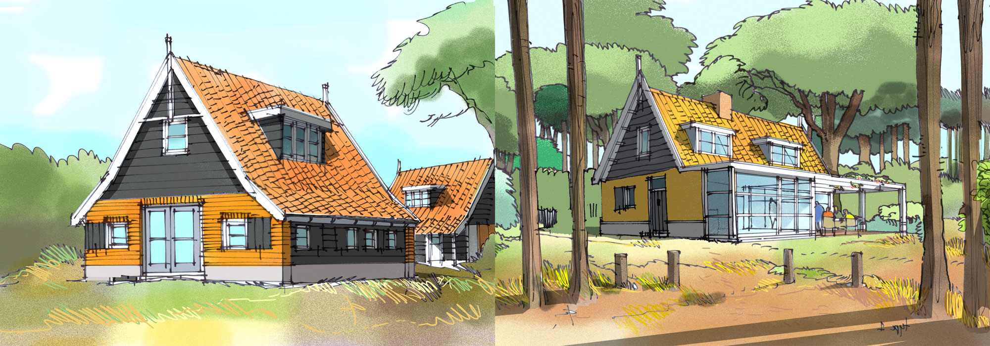 Concept recreatiewoning Advantage en Strandwoning