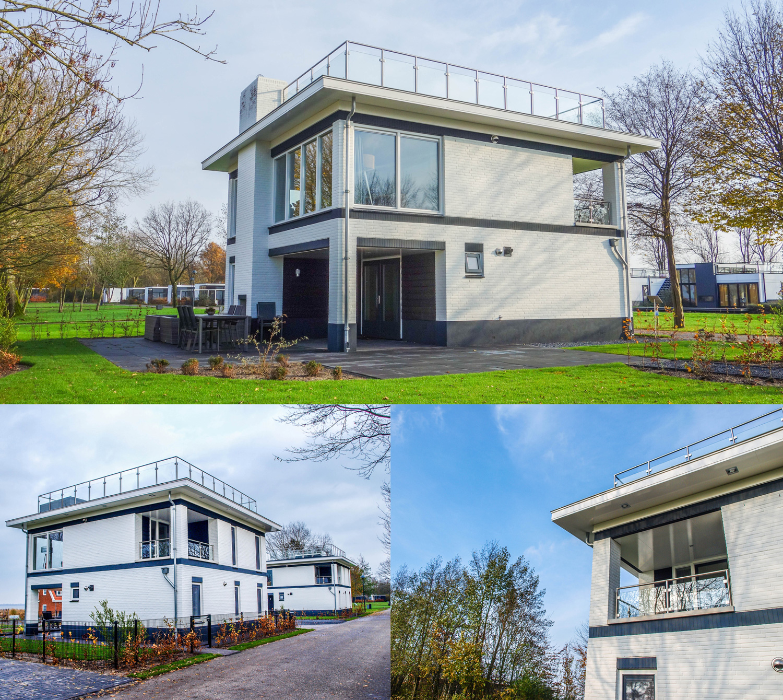 Realisatie recreatiewoning Meerzicht Bad Hoophuizen