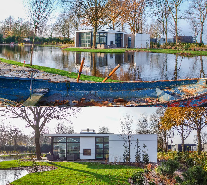 Realisatie energieneutrale recreatiewoning Bad Hoophuizen